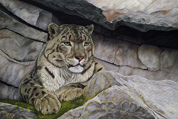 Wildlife artist-Le Seigneur de Mandchourie